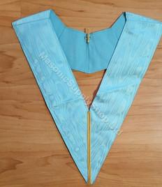 Royal Arch Officer Collar  Light Blue