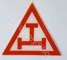 Car Decal  Royal Arch Tau
