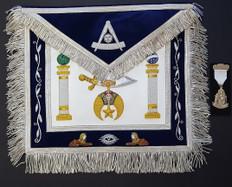 Shrine Custom Past Master Apron, Apron Case and Jewel Special