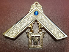 Blue  Past Masters Jewel  with Blue  Stone