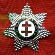 Knight Templar Perceptor Star Jewel Silver