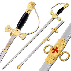 Knight of St John Templar Sword  OUT OF STOCK