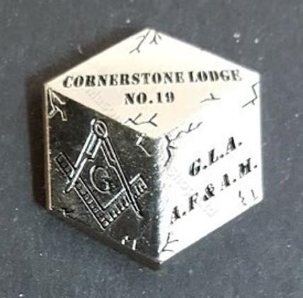Custom Masonic lapel Pins