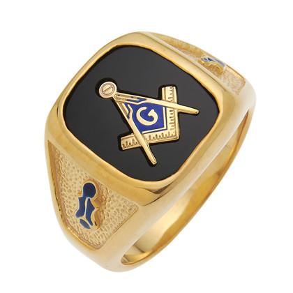 3rd Degree Masonic Gold Ring