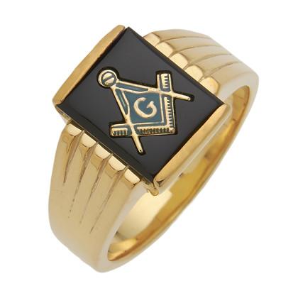 3rd Degree Masonic Gold Ring4