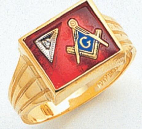 3rd Degree Masonic Gold Ring16