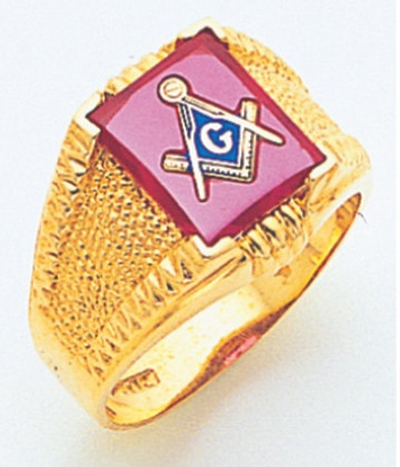3rd Degree Masonic Gold Ring29