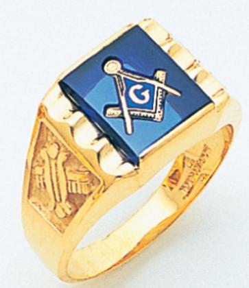 3rd Degree Masonic Gold Ring30