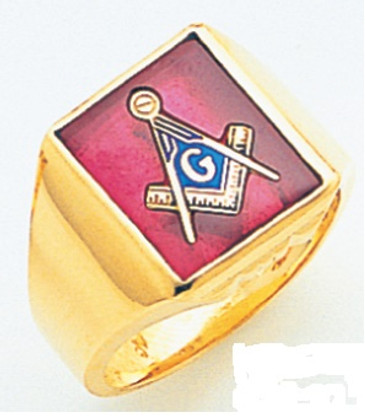 3rd Degree Masonic Gold Ring36