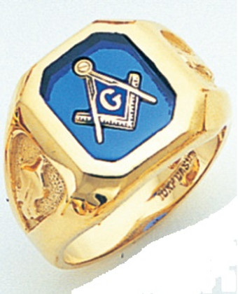 3rd Degree Masonic Gold Ring44