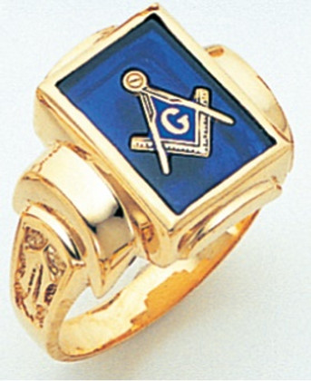3rd Degree Masonic Gold Ring46
