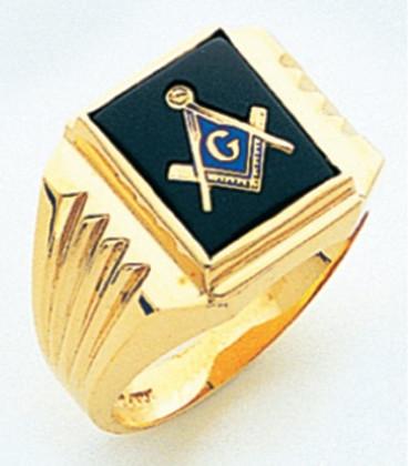 3rd Degree Masonic Gold Ring47