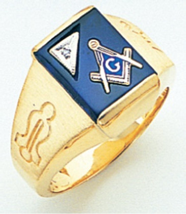 3rd Degree Masonic Gold Ring50