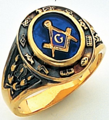 3rd Degree Masonic Gold Ring56