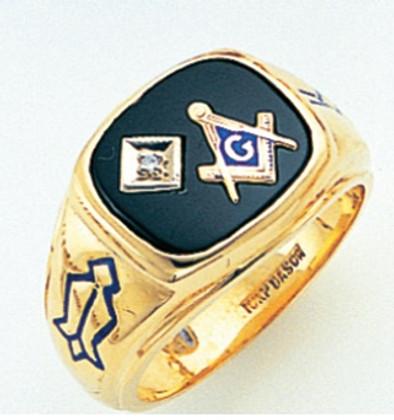 3rd Degree Masonic Gold Ring58