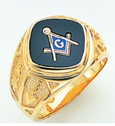 3rd Degree Masonic Gold Ring60