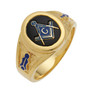 3rd Degree Masonic Gold Ring10