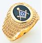 3rd Degree Masonic Gold Ring34