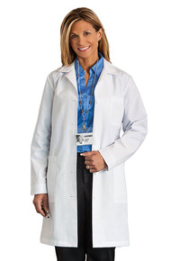 "37"" Meta Women's 5 Pocket Lab Coat 161"