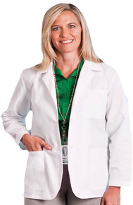 "28"" Meta Fundamentals Women's Consultation Lab Coat 15104"
