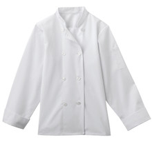 Ladies 8 Button Chef Jacket, size:XS-5XL