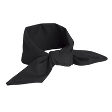 Neckerchief, Black (6 Pack)