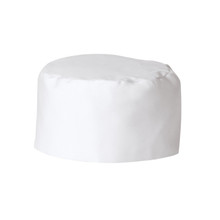 Bakers Cap, White (6 Pack), 100% Cotton Twill