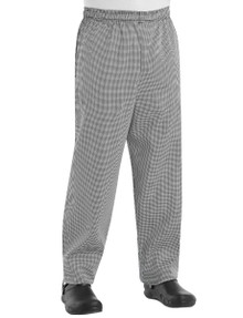 Unisex Baggy Chef Pant, 100% Cotton, size:XS-3XL
