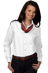 Edwards Women's LS Oxford Shirt  (More Colors) 5077