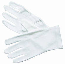 Henry Segal White Cotton Glove (6 pairs)