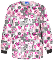 Cherokee Women's Warm-Up Jacket 4350, Words Of Love