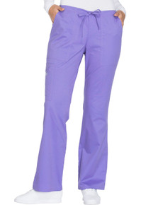Cherokee Workwear Core Stretch Women's Cargo Flare Scrub Pant 4044