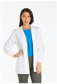 "30"" Cherokee Women's Knit Cuff Lab Coat 1302"