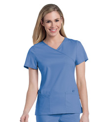 Urbane Ultimate Women's Sophie Crossover Scrub Top 9577