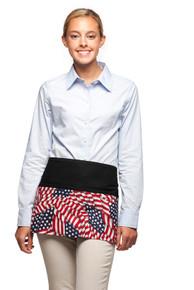 Daystar 100FG 3 Pocket American Flag Waist Apron