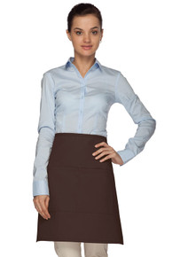 Daystar 110 Half-Bistro Apron with Center Divided Pocket