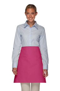 Daystar 110-I Half-Bistro Apron with Inset Pocket