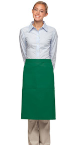 Daystar 124 3/4 Bistro Apron w/Center Divided Pocket