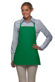 "22"" No Pocket Promo Bib Apron"