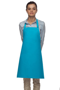 "Daystar 210NP 28"" No Pocket Bib Apron"
