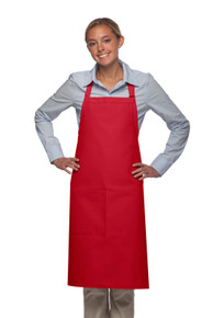 "Daystar 221 34"" One Pocket Butcher Apron w/Pencil Divide"