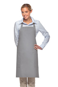 "Daystar 230 30"" Two Pocket Bib Apron"