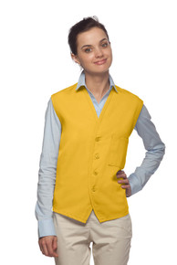 Daystar Apparel 740 Unisex One Pocket Button Vest