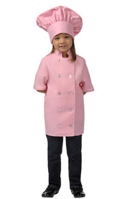 Daystar  Pink SS Child Chef Coat 955