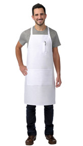 Daystar 523 Two Pocket Butcher Apron w/Pencil Pocket
