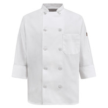 Ladies 10 Button Chef Coat, size:S-3XL