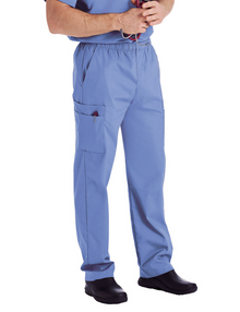 Landau Men's Cargo Pocket Zipper Fly Scrub Pant 8555
