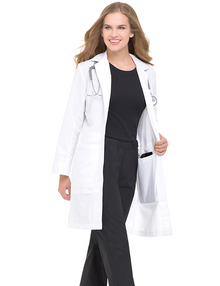 "37"" Landau Ipad Pocket Lab Coat (2-20,40-42)"