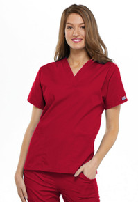 Cherokee Workwear Women's V-Neck Top 4700