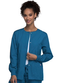 Cherokee Workwear Women's Warm Up Scrub Jacket 4350